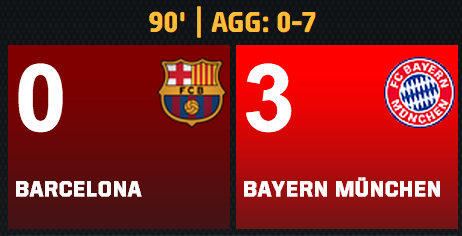 Bayern Munich vs. Barcelona: Live Score and Highlights | Bleacher