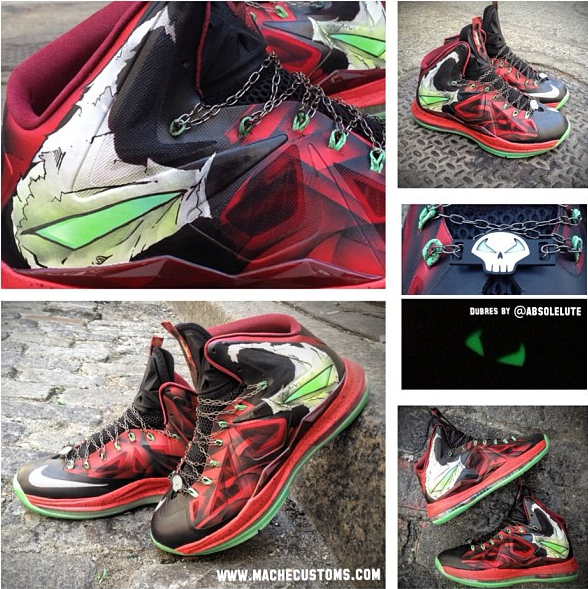 Lebron James Iron Man Shoes