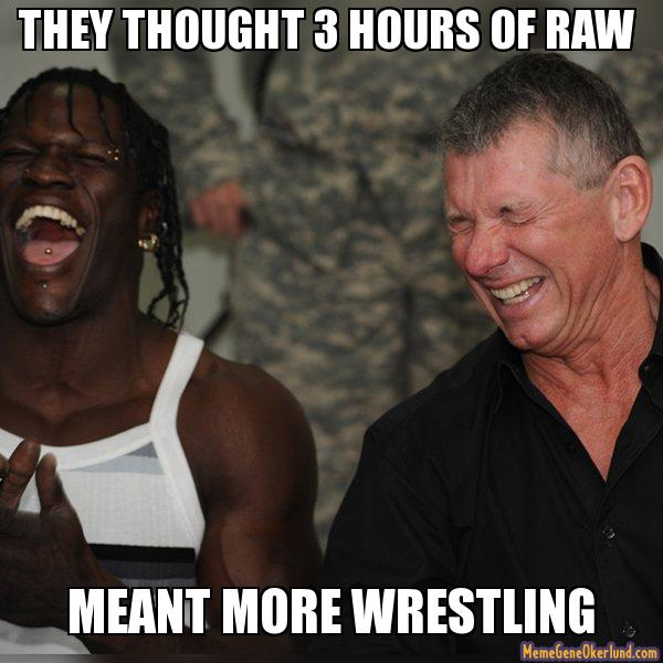 Funniest Wwe Memes On The Internet : Examining the validity of fan complaints about raw s shift