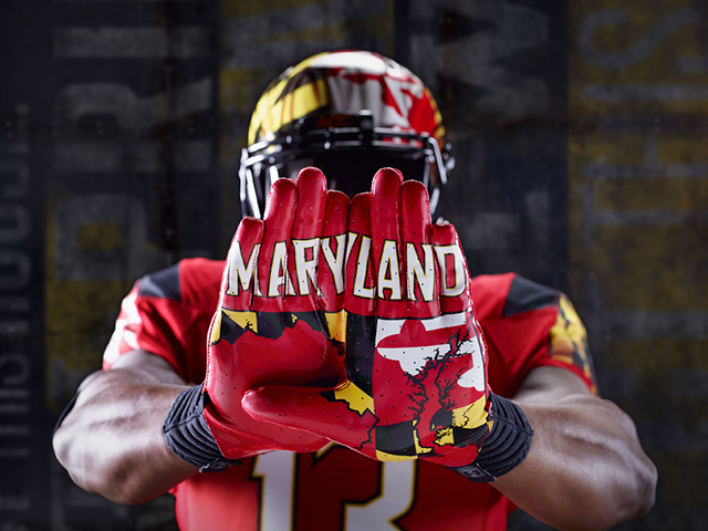 Maryland Football, Under Armour Unveil New Red 'Pride ...