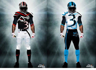 Nfl Jerseys Redesigned By Mr Design Junkie Bleacher Report