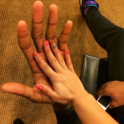 Okafor Hands