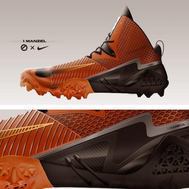 shoe designer releases johnny manziel concept cleats