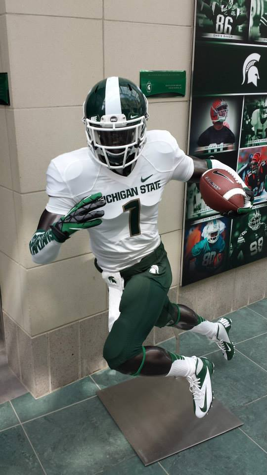 Michigan State Football Team Hints at New All-White ...