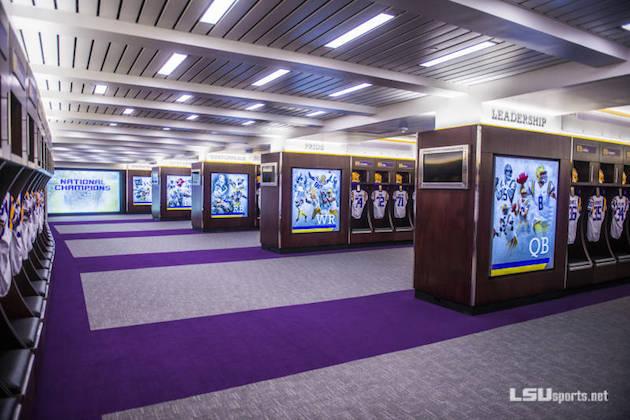 Dorm rooms lights - Lsu Tigers Renovations Lead To Impressive New Locker Room