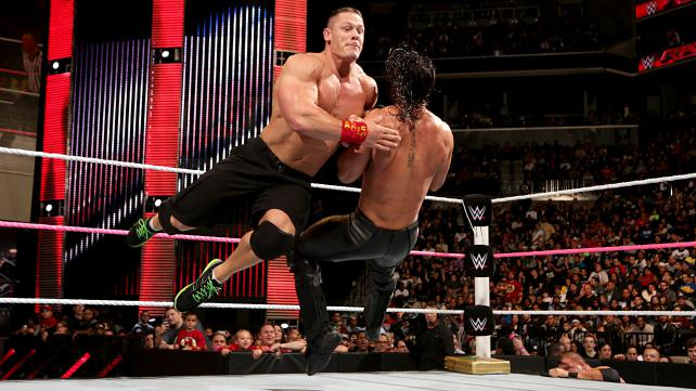 John cena must put seth rollins over in feud with young star