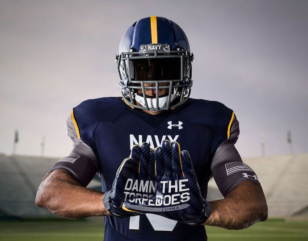 New Navy Football Helmets for Army/Navy Game