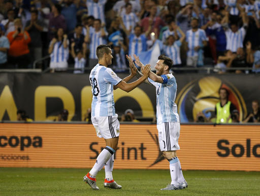 Copa America 2016: Lionel Messi scores three goals as sub for Argentina