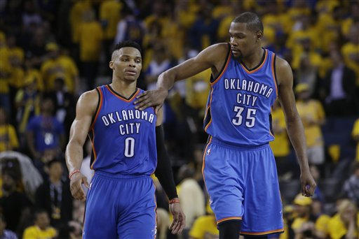 Westbrook 'ticked off' with Durant leaving OKC