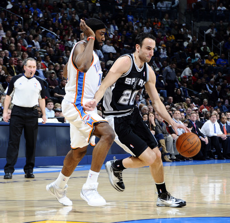 manu Ginobili and James Harden