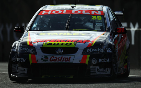 Auto Racing  Zealand on New Zealand April 16 Russell Ingall Drives For Supercheap Auto Racing