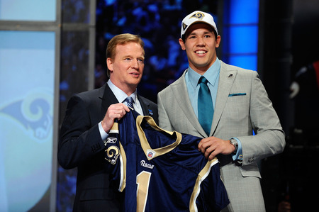 Sam Bradford at 2010 NFL Draft