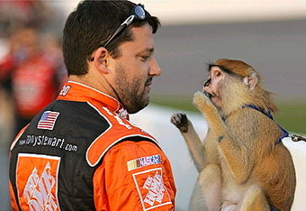 nascar driver tony stewart girlfriend