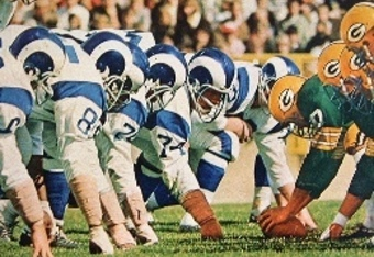 The Quot Fearsome Foursome Quot Of The Los Angeles Rams Bleacher