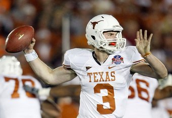 The texas longhorns five most valuable players in 2010 texas