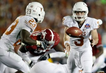 The 2010 texas longhorns depth chart reactions and ruminations