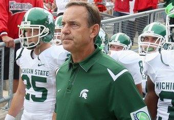 Michigan State Football: Mark Dantonio in Good Condition ...