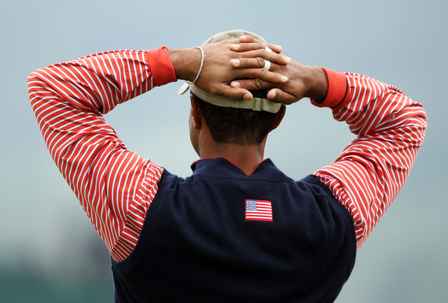 Talk about going for perfect timing. Just before the beginning of Ryder Cup ...