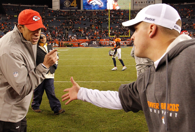 DENVER - NOVEMBER 14:  Head coach Todd Haley of the <a class='sbn-auto-link' href=