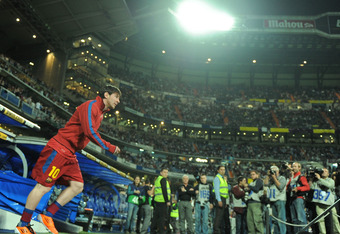 Get used to the bright lights of El Clasico, Lionel Messi. You've got three more in the next 18 days.