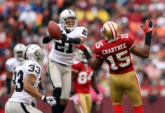 Nnamdi Asomugha's days in Oakland are likely over