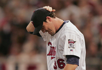 Minnesota Twins reliever Joe Nathan has struggled so far in 2011 while trying to come back from Tommy John surgery.