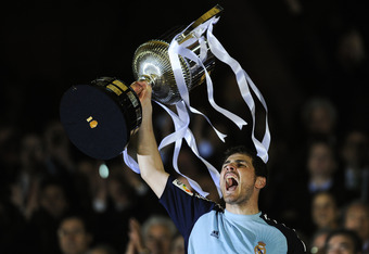 Iker Casillas anchored a stout Real Madrid effort in the Copa del Rey.