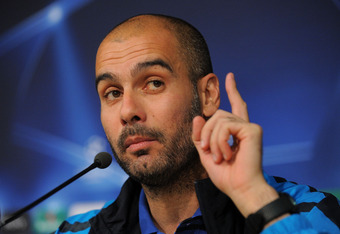 Guardiola: We're not at Wembley yet.