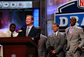The 2011 NFL draft is here.