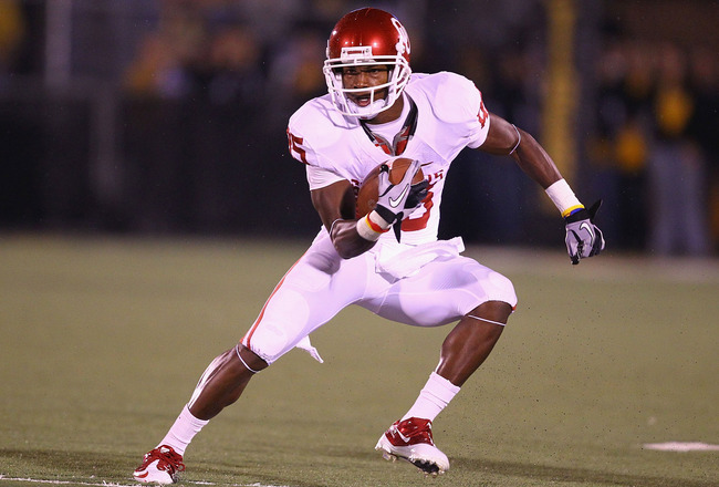 Oklahoma Sooners Football: Ryan Broyles Set to Break NCAA Records