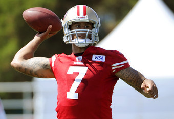 Colin Kaepernick vies for playing time in SF