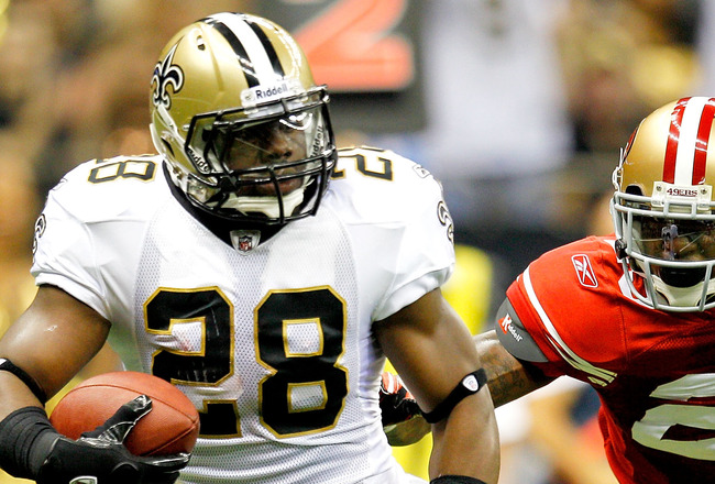 Bad News for Saints' RB Mark Ingram