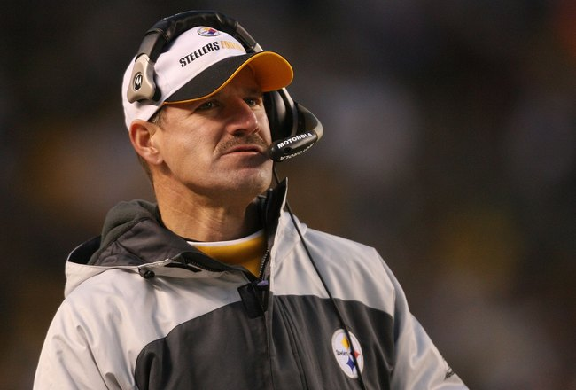 PITTSBURGH - DECEMBER 03:  Head coach Bill Cowher of the Pittsburgh Steelers watches from the sideline against the Tampa Bay Buccaneers at Heinz Field on December 3, 2006 in Pittsburgh, Pennsylvania.  (Photo by Nick Laham/Getty Images)