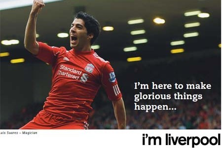Luis Suarez Joins Campaign and States 'I'm Liverpool'