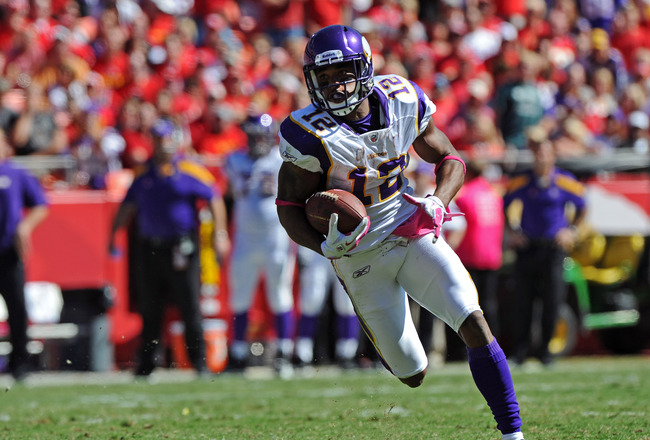 Vikings can win if PERCY HARVIN is healthy