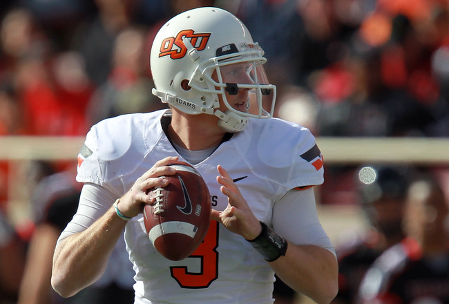 OKLAHOMA STATE can't overlook its Friday night game vs. Iowa State