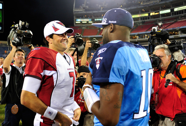 Matt Leinart: Texans QB and VINCE YOUNG Get Second Chances at Glory