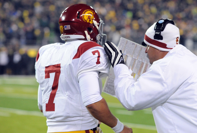 USC FOOTBALL: One up, one down in 2011