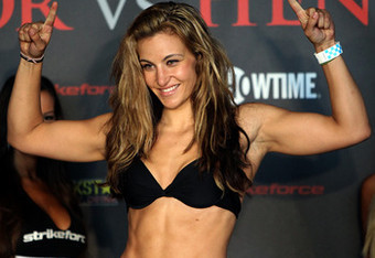 Miesha Tate: Ronda Rousey's Not a Fighter