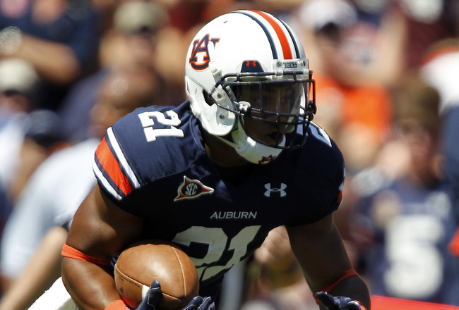 Auburn Football: Michael Dyer Suspension Puts Spotlight on Tre Mason ...
