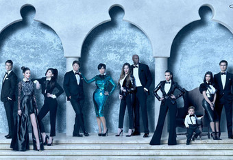KARDASHIAN CHRISTMAS CARD: A Look Through the Years