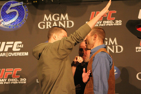 UFC 141: The Cerrone-Diaz Press Conference Scrap—Why Fans Shouldn't Be Shocked