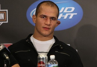Champ Junior Dos Santos celebrates Carnival as part of UFC 142 festivities