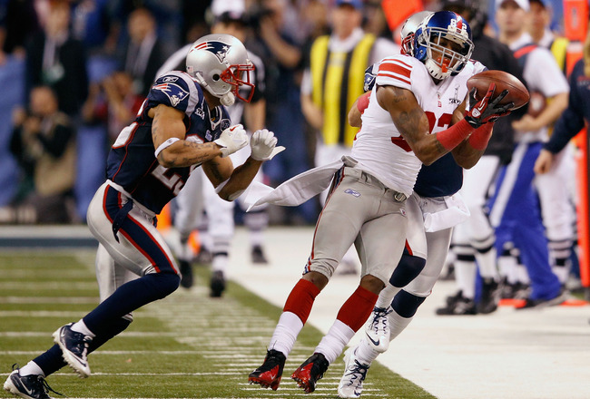 Mario Manningham was a key players in the Giants' Superbowl win