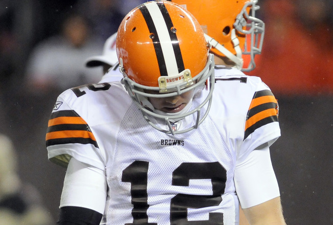 Report: Browns Told Colt McCoy They Wouldn't Draft a QB...