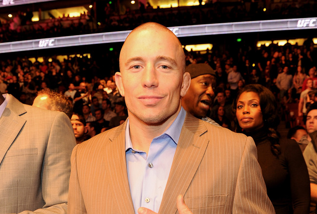Why Dana Should Strip GSP of His Title