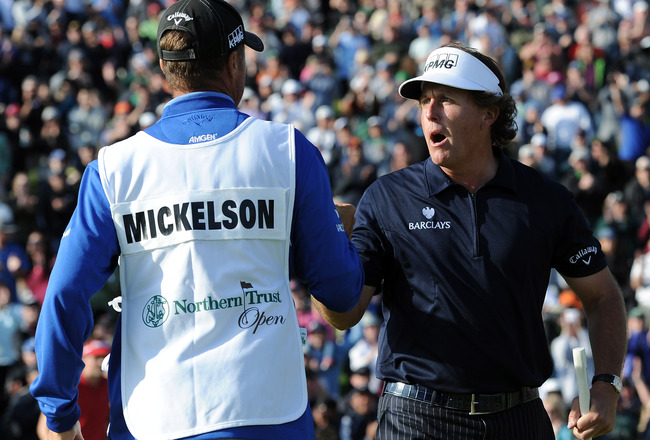 PHIL MICKELSON: Mickelson places after a playoff at the NTO