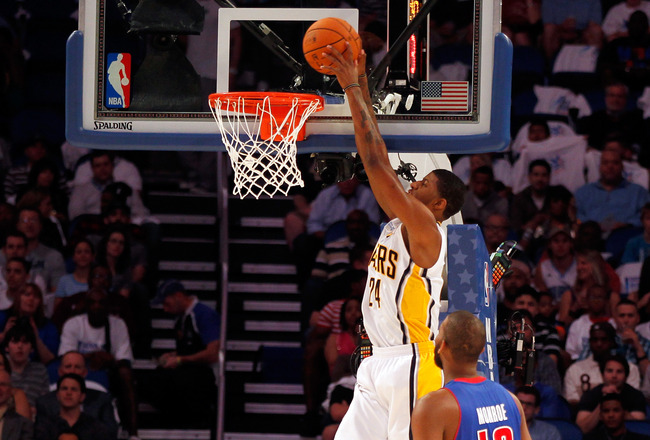 NBA Slam Dunk Contestants 2012: Paul George and Derrick Williams Set To Dominate