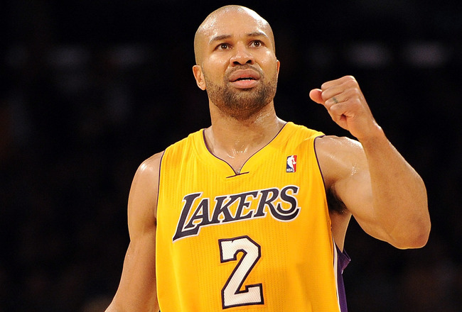 Derek Fisher's clutch shooting is a key loss for the Lakers