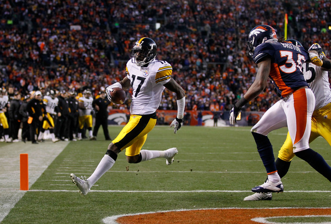 Steelers Free Agency 2012: Mike Wallace Could Be Targeted by Denver Broncos